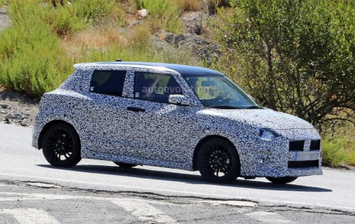 引用元http://www.autoevolution.com/news/turbo-2017-suzuki-swift-sport-makes-spy-photo-debut-110587.html#
